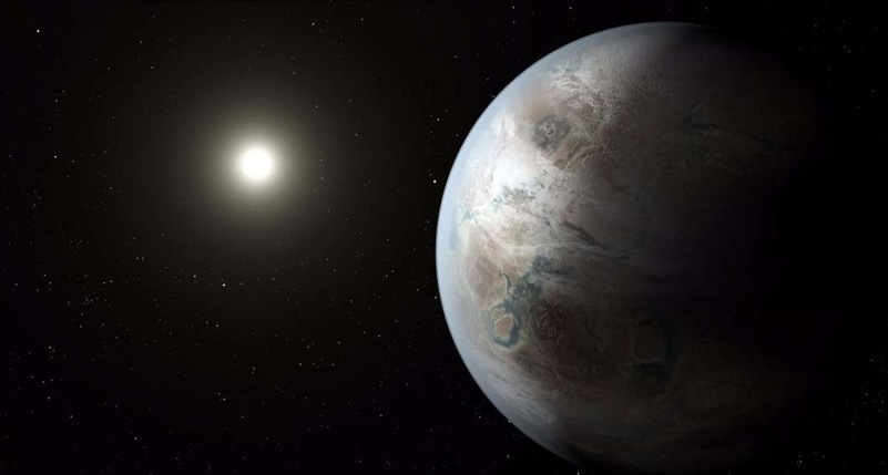 "Kepler discovers ""Earth's bigger, older cousin"""