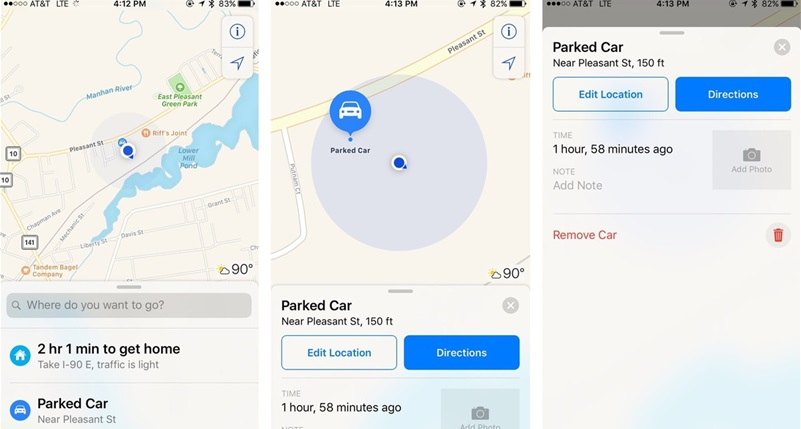 Google Maps has recently included a convenient component that will help clients recall where they stopped.