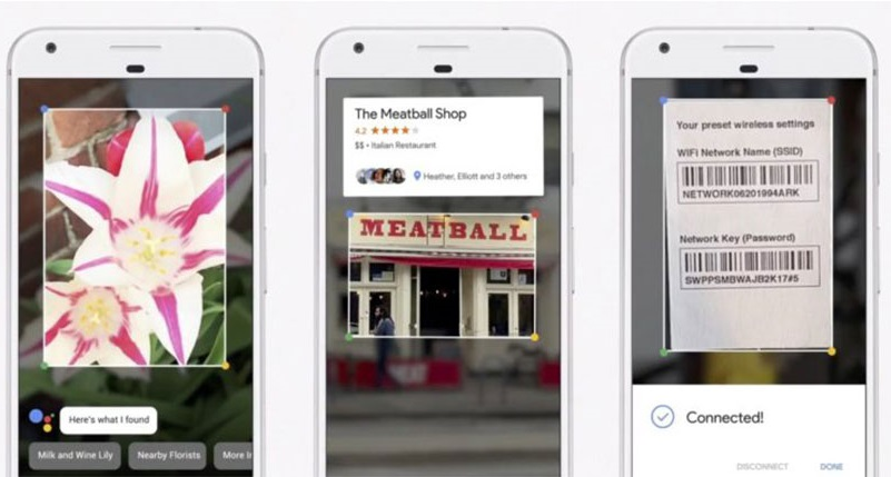 Google presents Lens, an AI in your camera that can perceive objects