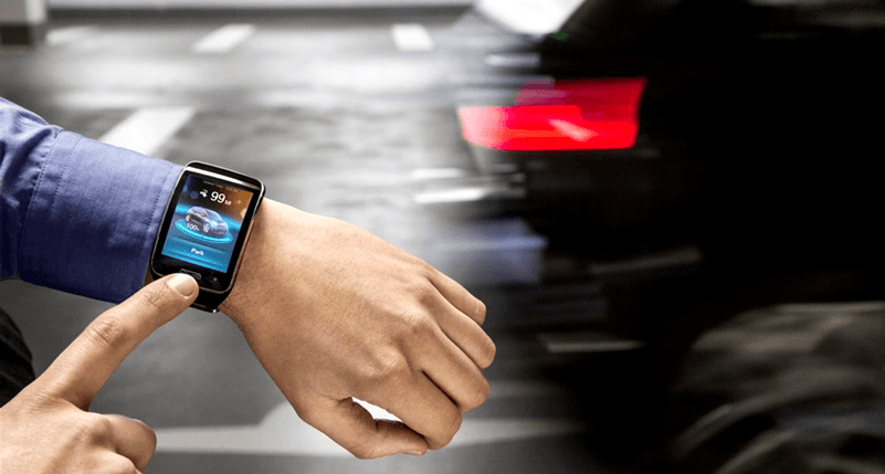 BMW is developing a car that can be parked via smartwatch
