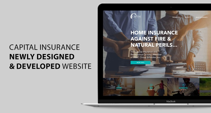 Capital Insurance newly designed and developed...