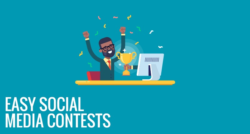 Easy social media contests to grow your traffic & generate leads