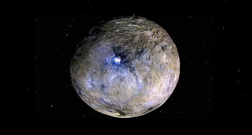 Dwarf planet Ceres has reservoirs of salty water