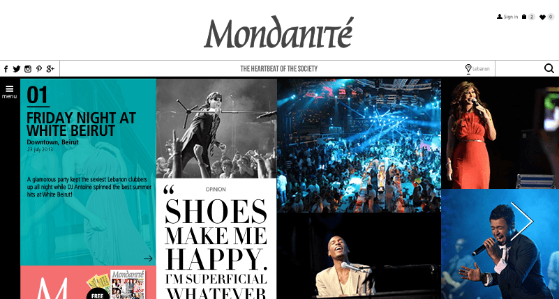 Softimpact launches its latest website:  Mondanité, reflecting your thoughts online.