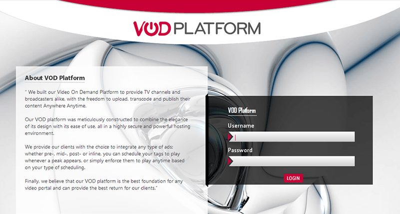 VOD Platform: The most advanced video on demand platform