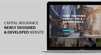 Capital Insurance newly designed and developed responsive website is launched!