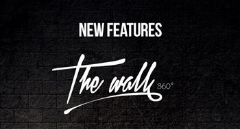 TheWALL 360 | Introducing three new features for easier website content creation experience
