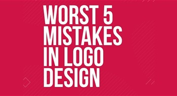 Worst 5 mistakes in logo design