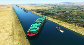 Microsoft Flight Simulator Mod Adds Stuck Ship To The Suez Canal